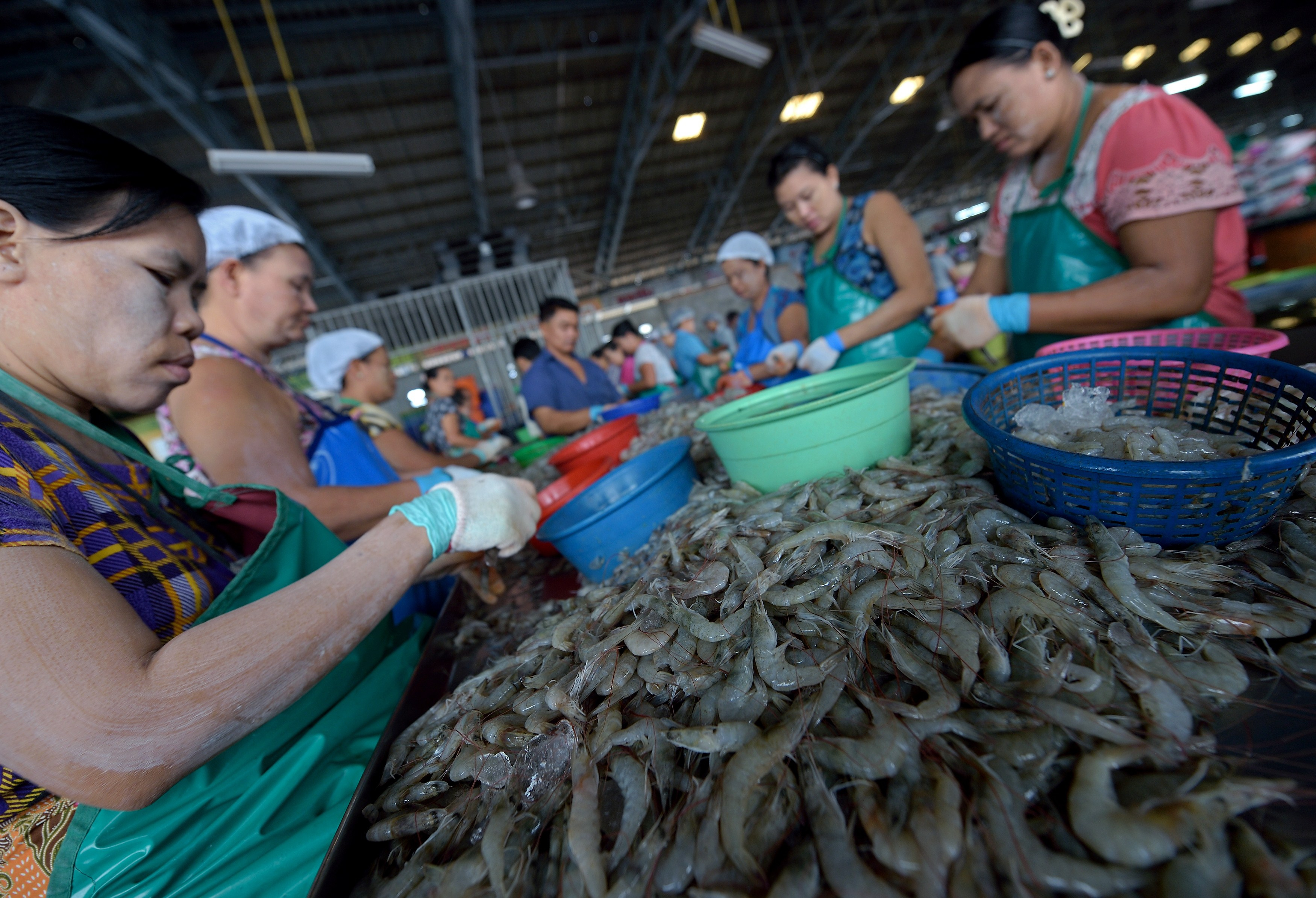 THAILAND-FRANCE-FISHING-FOOD-RIGHTS