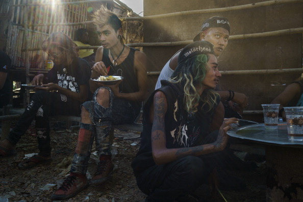 Burmese Punks Deliver Food To Some Of Yangon's Poorest Communities