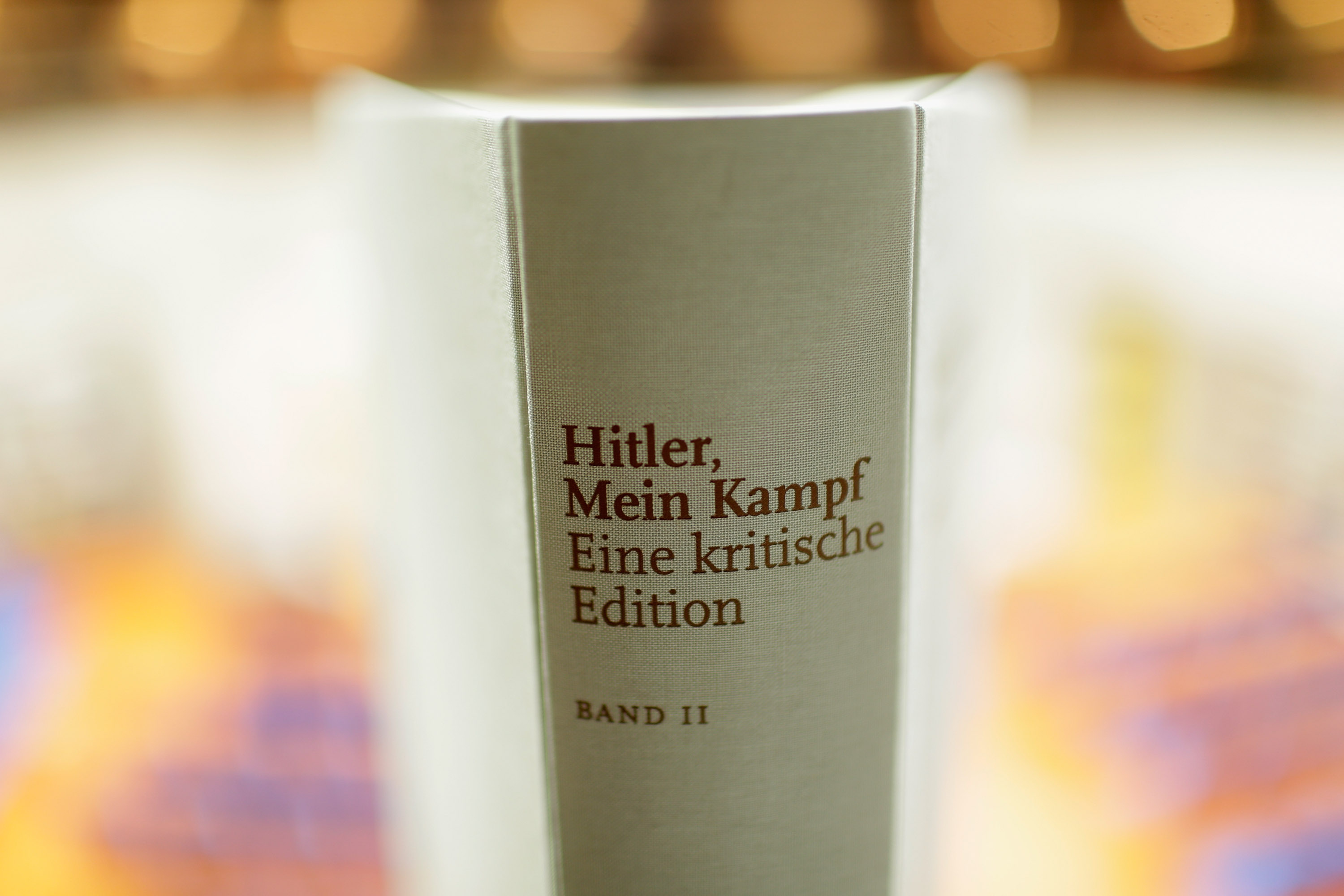 """British historian Sir Ian Kershaw speaks at the presentation of the new critical edition of Adolf Hitler's """"Mein Kampf"""" at the Institut fuer Zeitgeschichte (Institute for Contemporary History)on January 8, 2016 in Munich, Germany. The new edition, which augments Hitler's original text with critical analysis, is the first new publication of the book in Germany since World War II. The state of Bavaria held the copyright to the book and prohibited publication, though the copyright expired on January 1 of this year. Adolf Hitler wrote """"Mein Kampf"""", which is both an autobiography and a presentation of his political views, while he was a prisoner in Germany in the 1920s."""