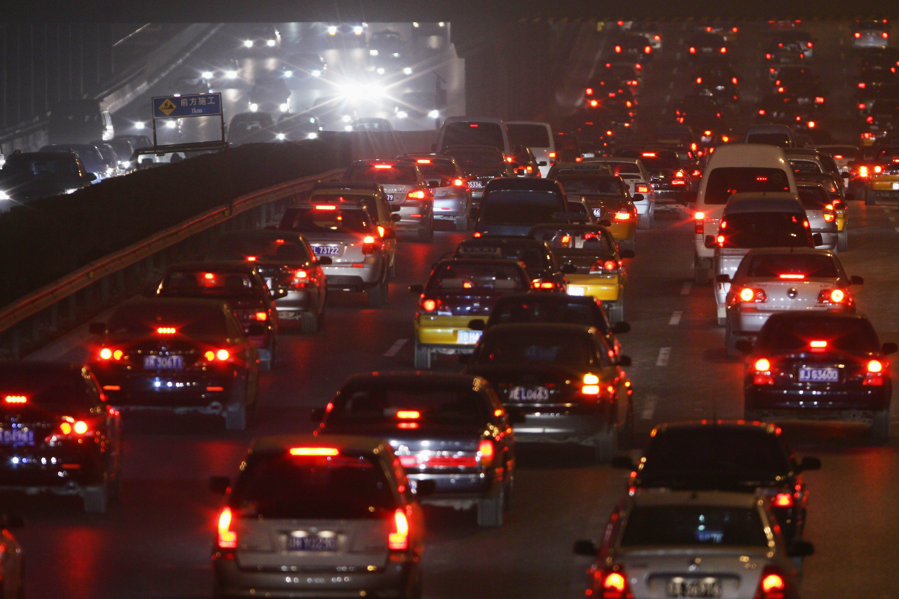 Beijing To Raise Car Emission Standards For 2008 Olympics
