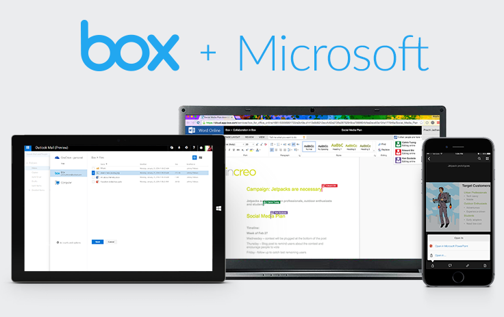 Box and Microsoft Expand Partnership | Fortune
