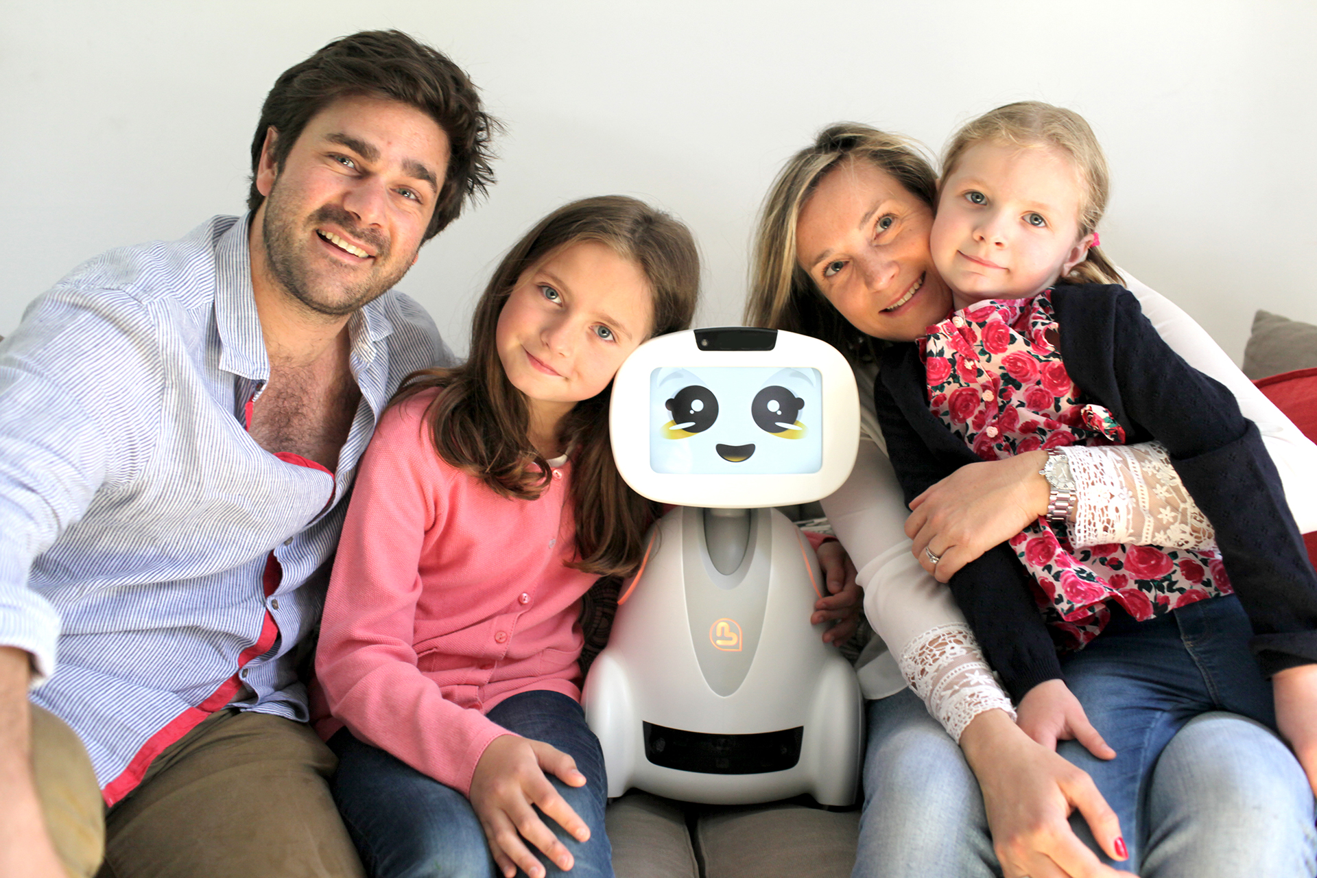 Buddy, desgined in France and built in the U.S., is billed as a programmable 'home companion' for kids, families and the elderly.