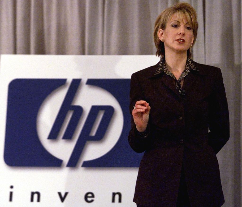 Carly Fiorina, CEO and president of Hewlett-Packar