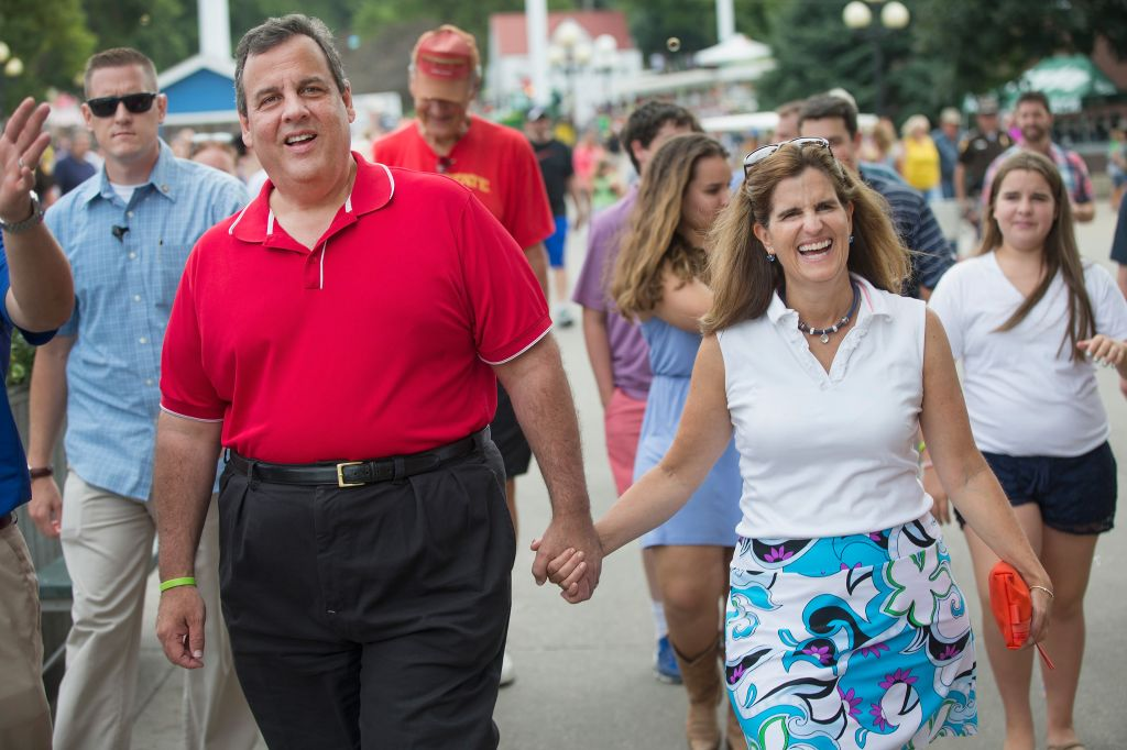 Chris Christie and wife Mary Pat Foster