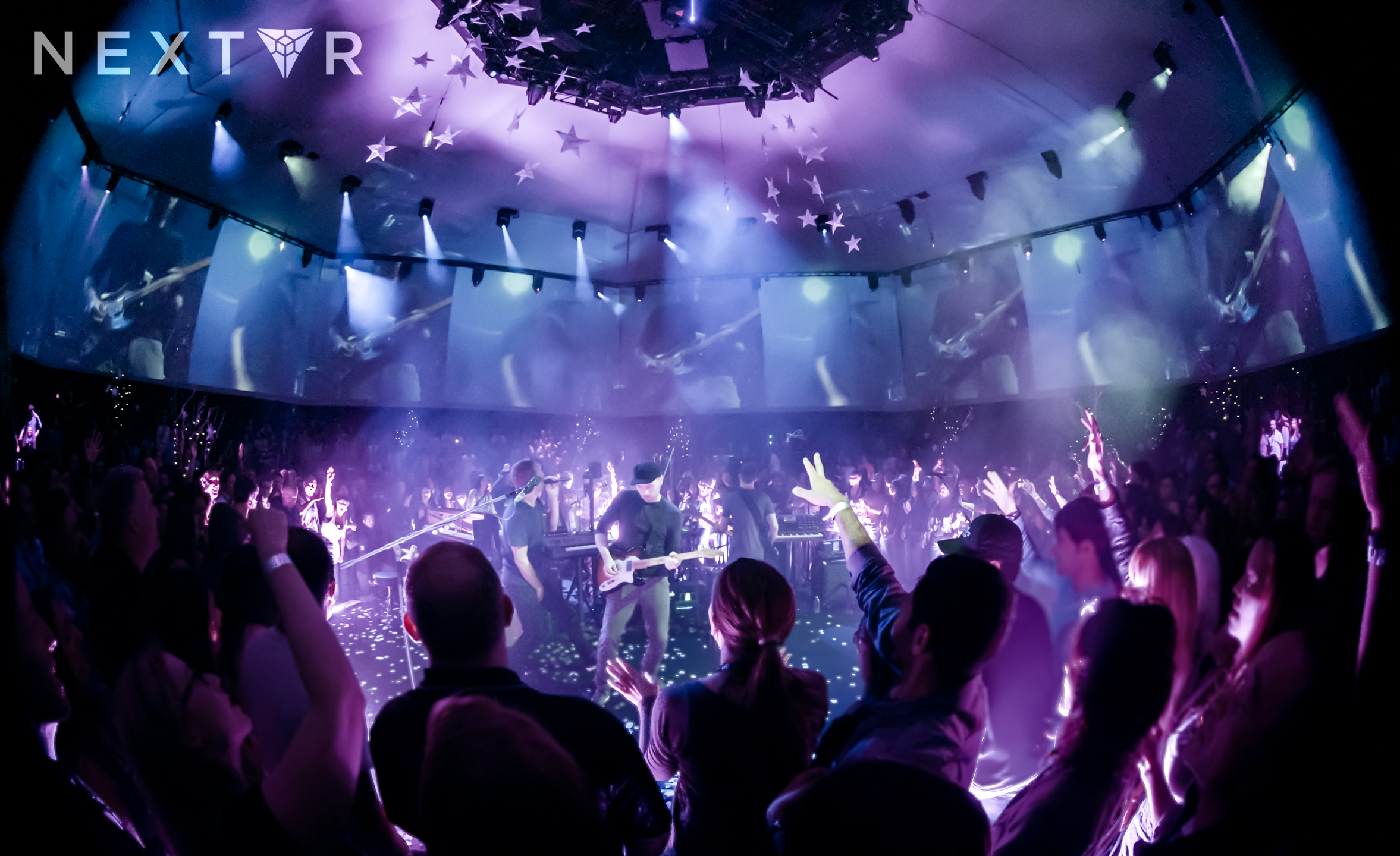 Coldplay performed a virtual reality concert with NextVR in 2014.