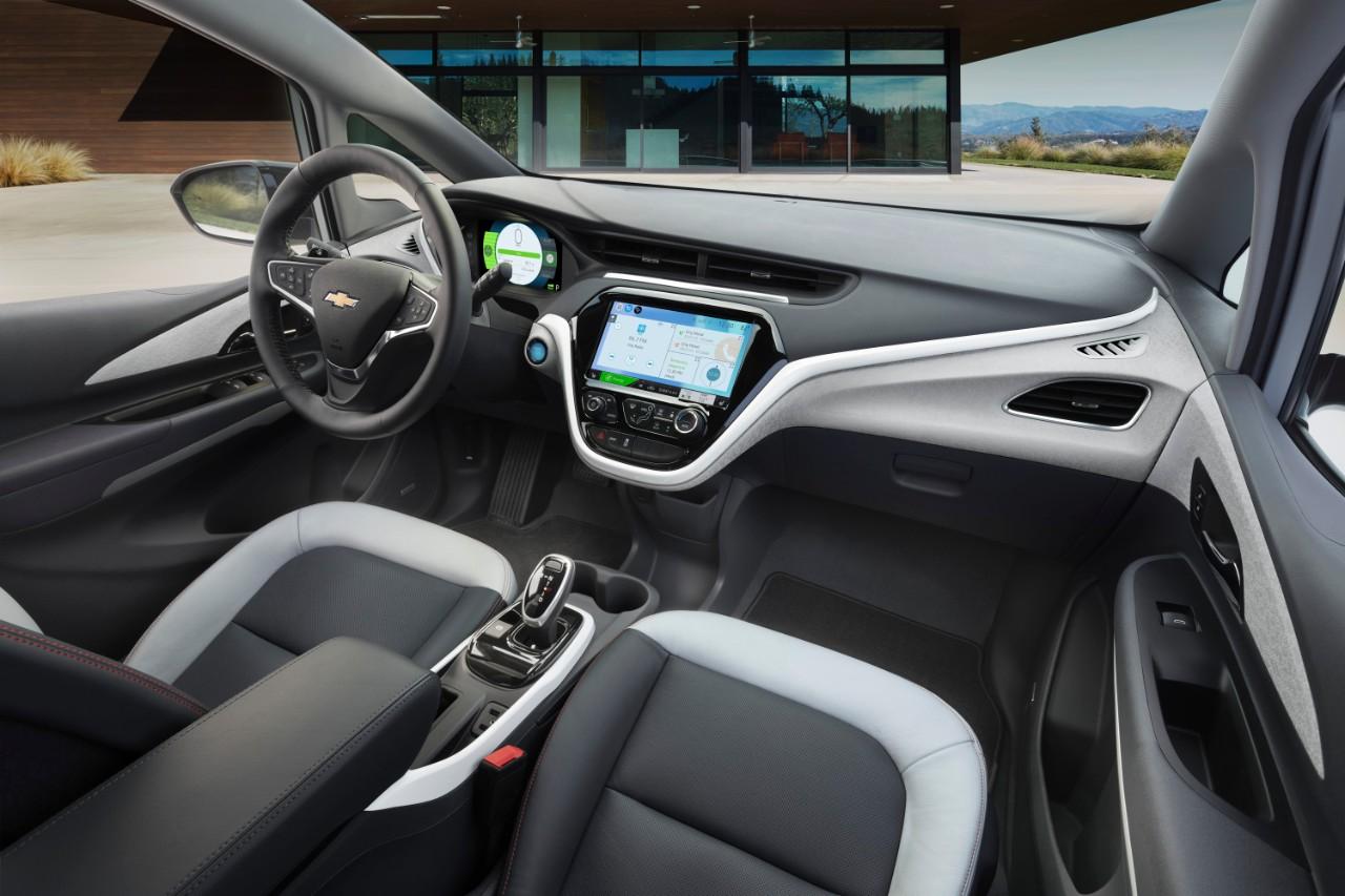 GM Chevrolet Bolt EV interior