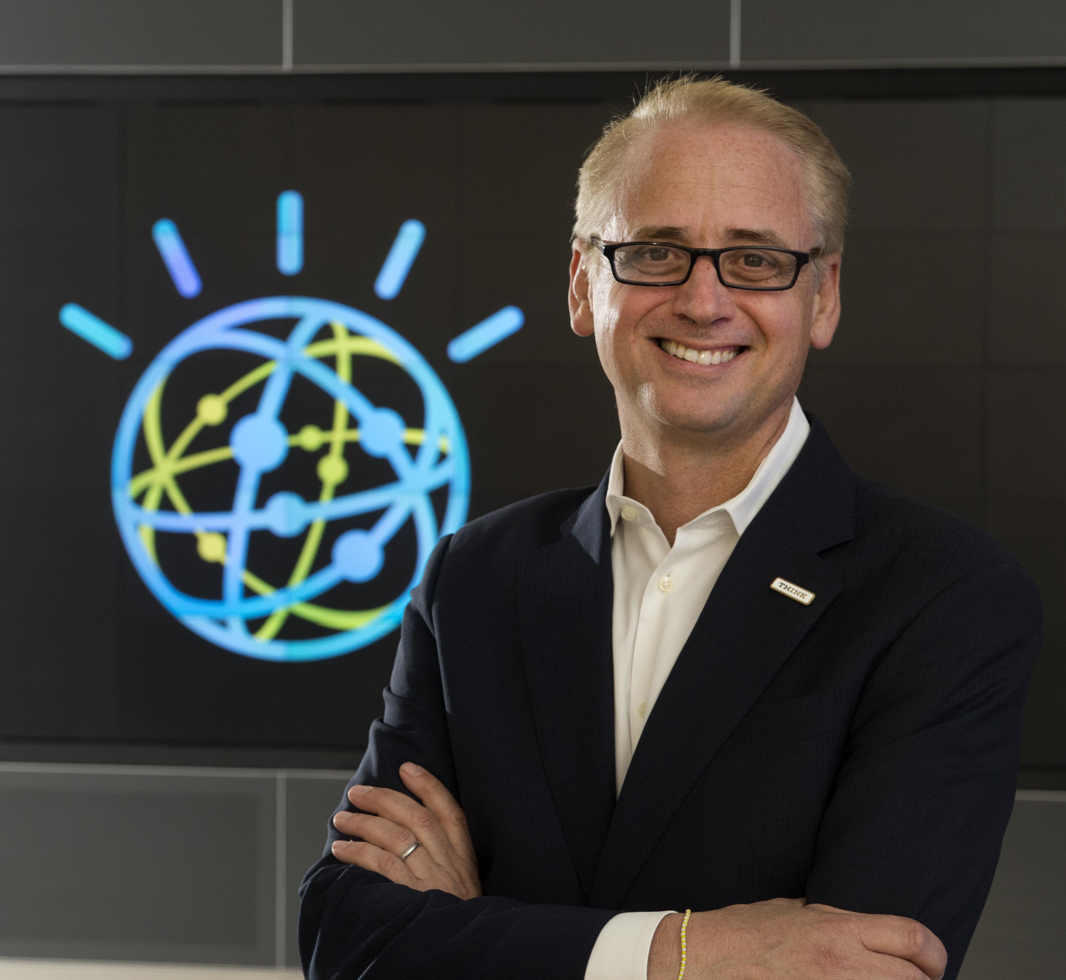 David Kenny, GM of IBM's Watson unit.