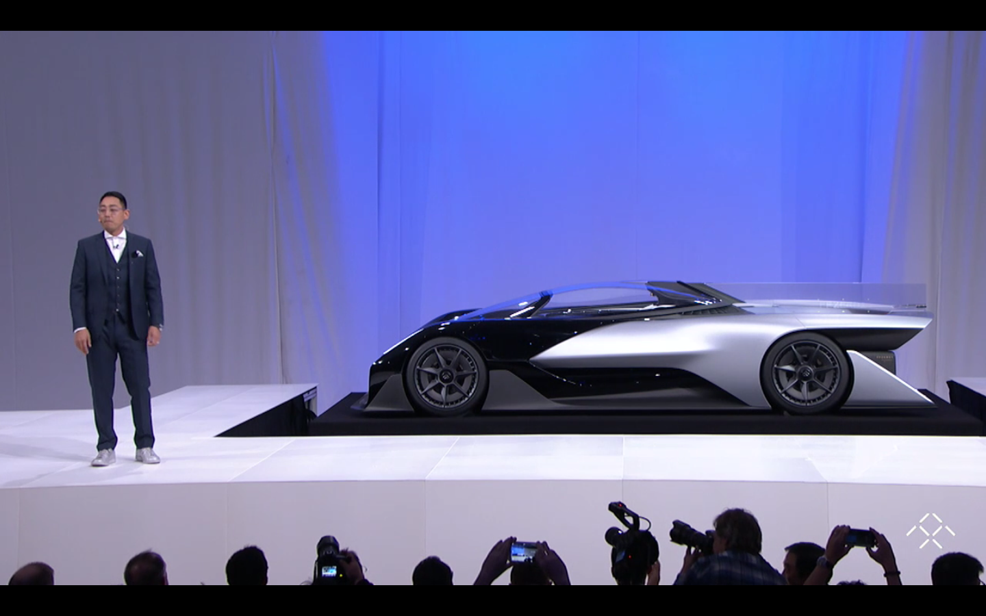 Faraday Future FFZERO1 concept car at CES 2016
