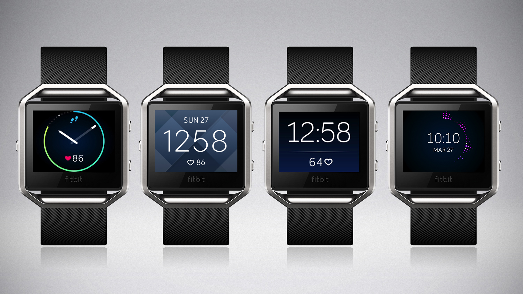 Fitbit's latest product, the Fitbit Blaze smartwatch