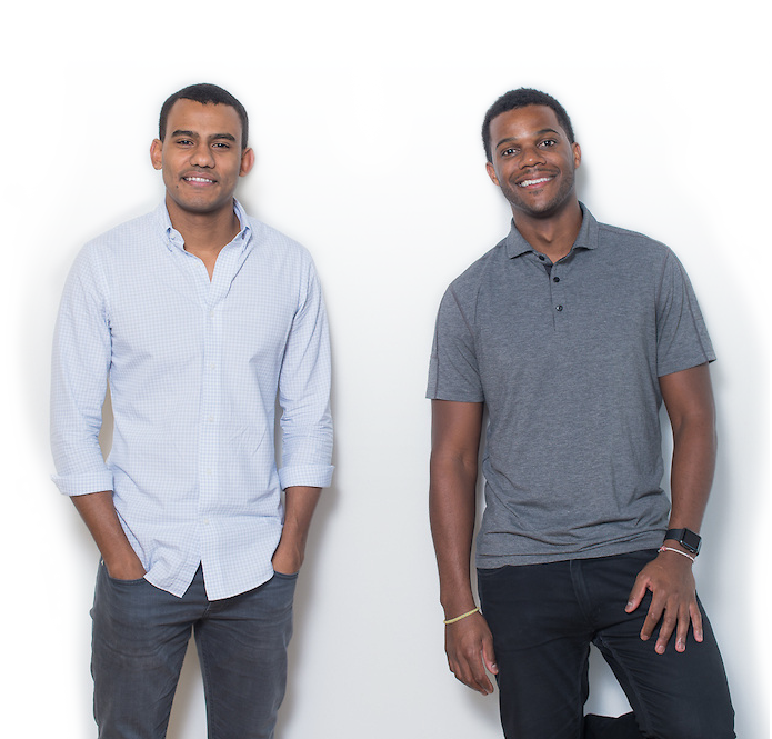 Jopwell cofounders Ryan Williams (left) and Porter Braswell.