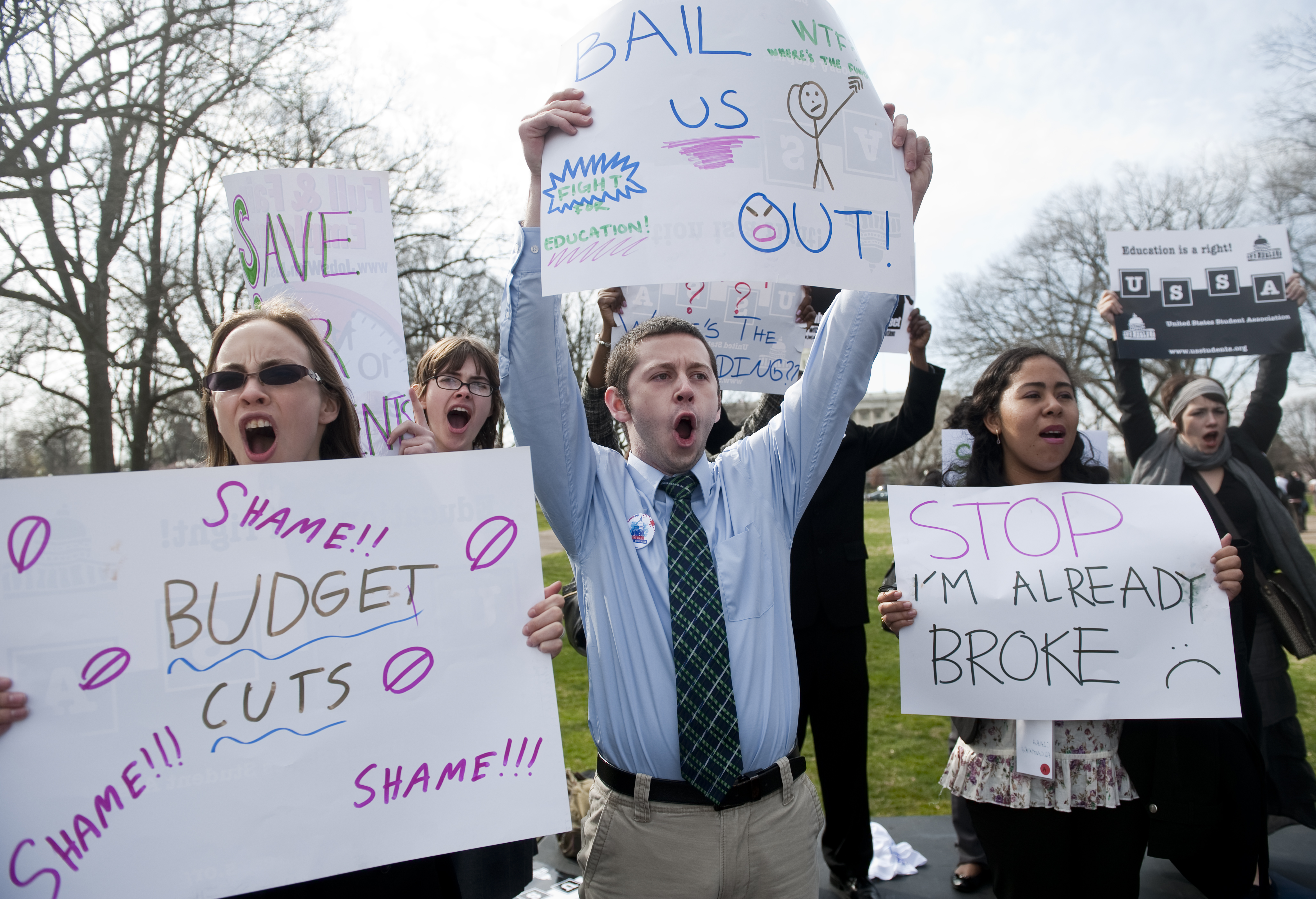 Student Financial Aid Rally