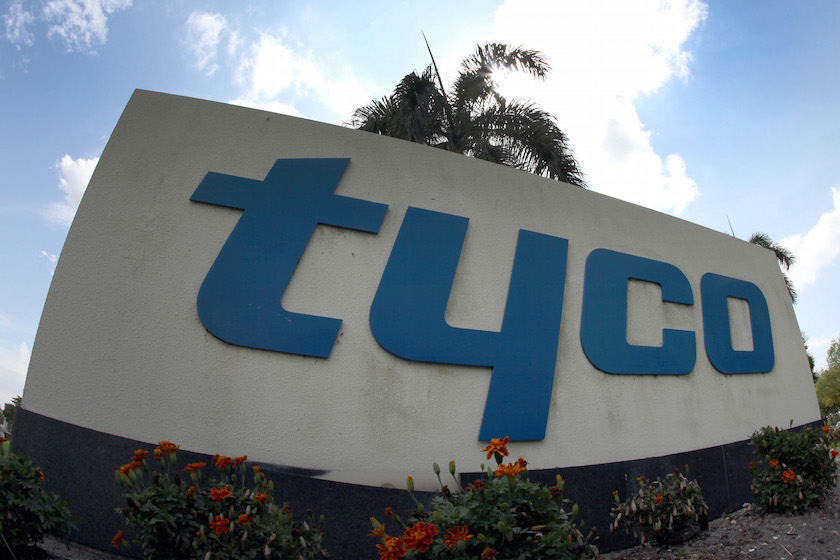 Tyco Becomes Target With Schneider Talks Viewed As Sale Sign