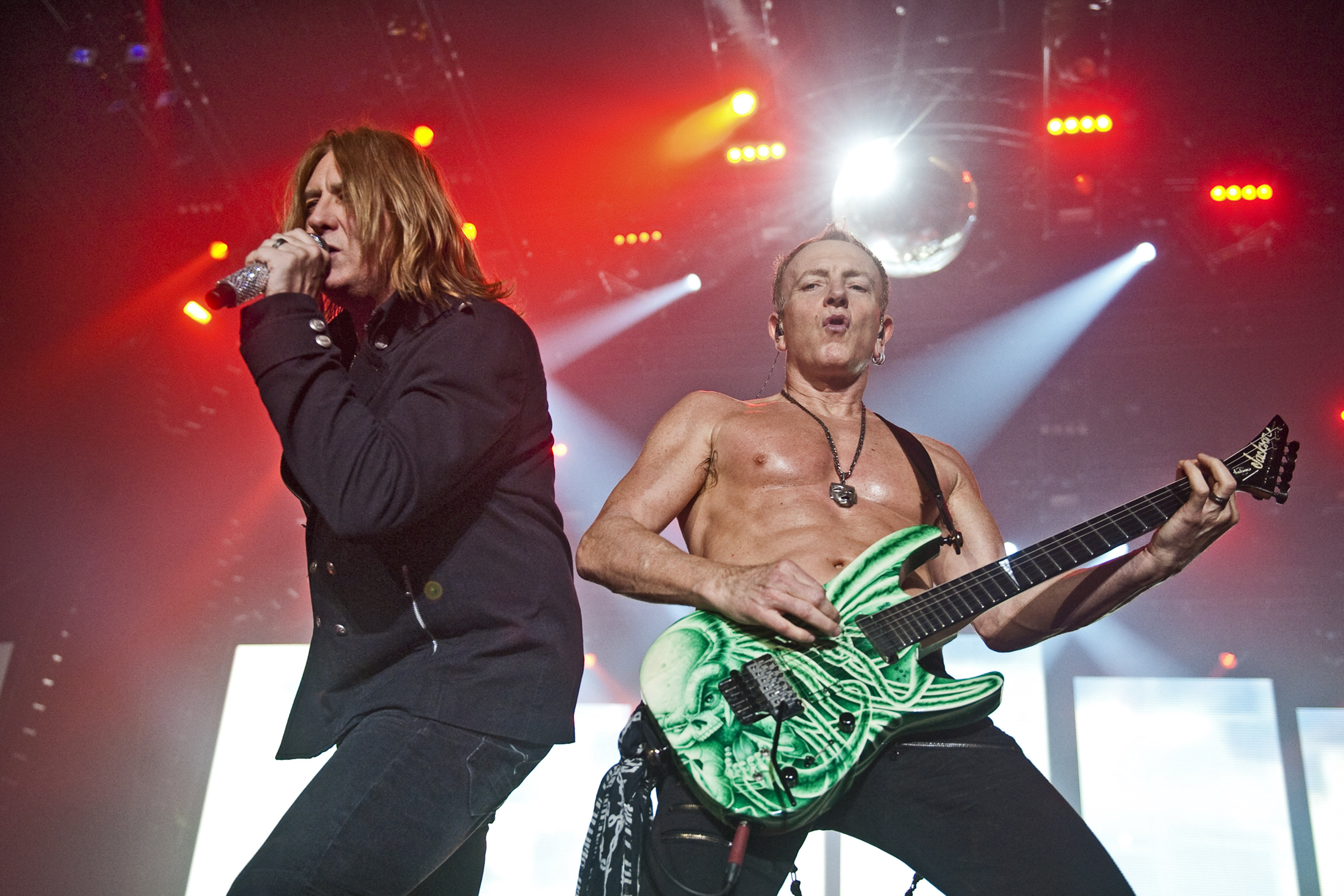 Def Leppard And Steel Panther Perform At Wembley Arena