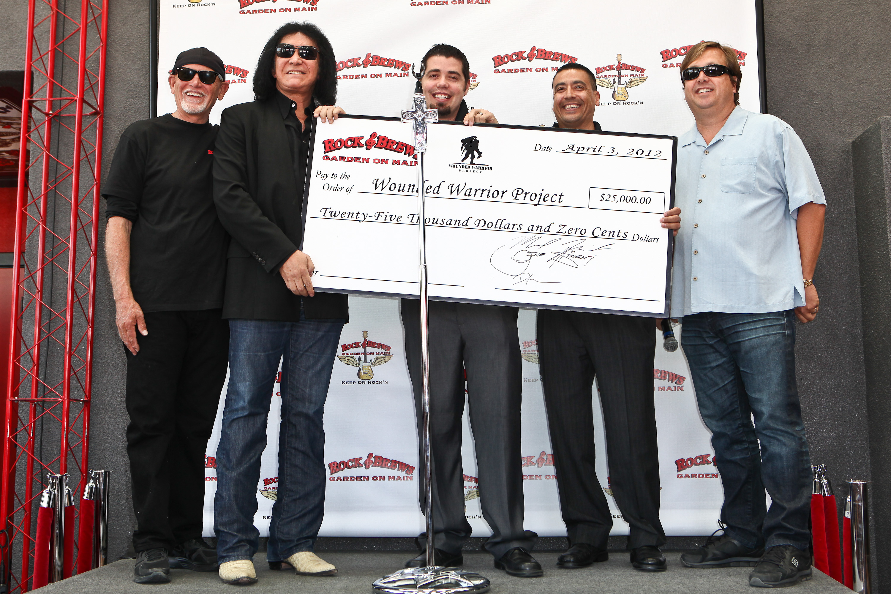 Wounded Warrior Private Luncheon With Gene Simmons