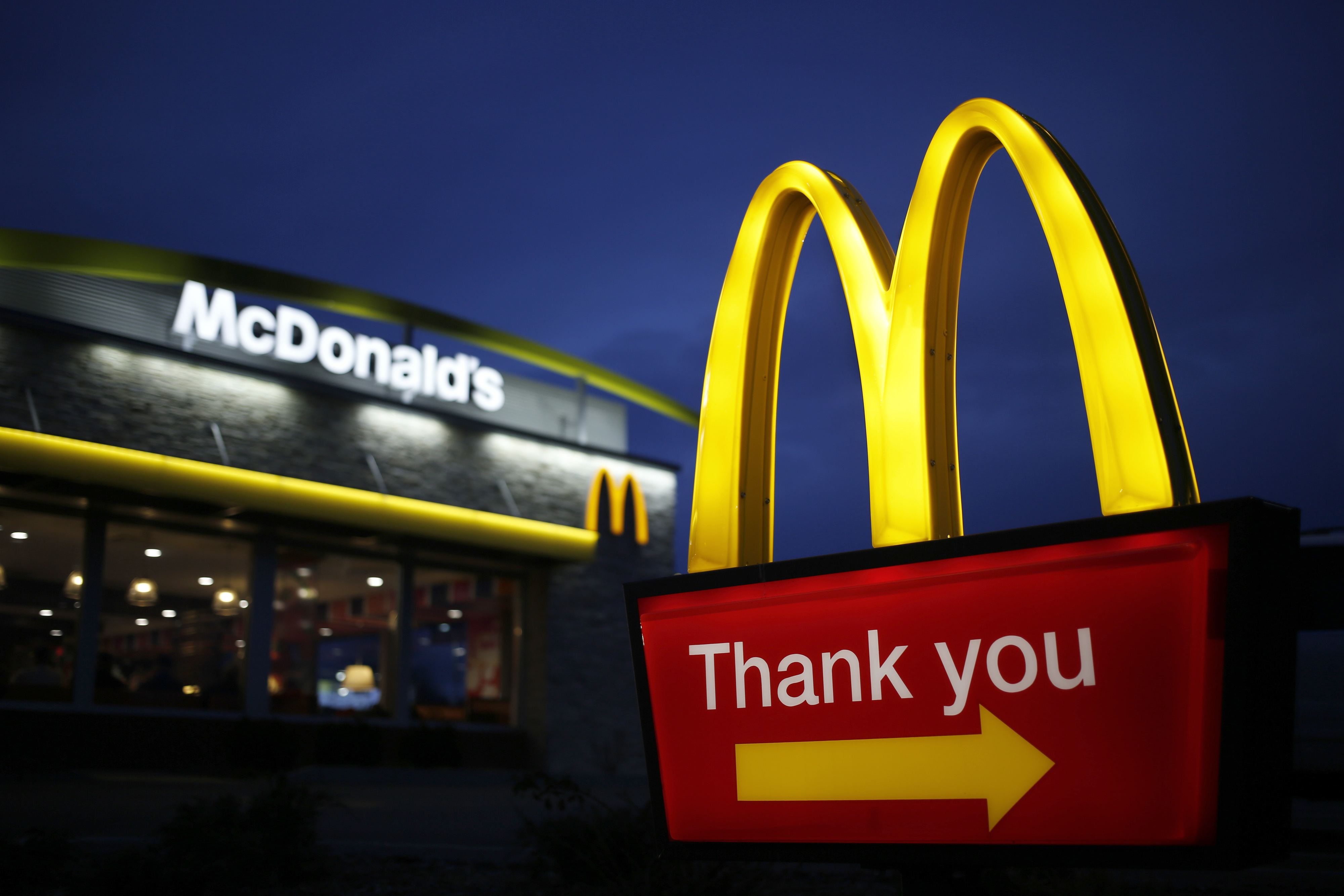 McDonald's Same-Store Sales Top Estimates as Declines Abate