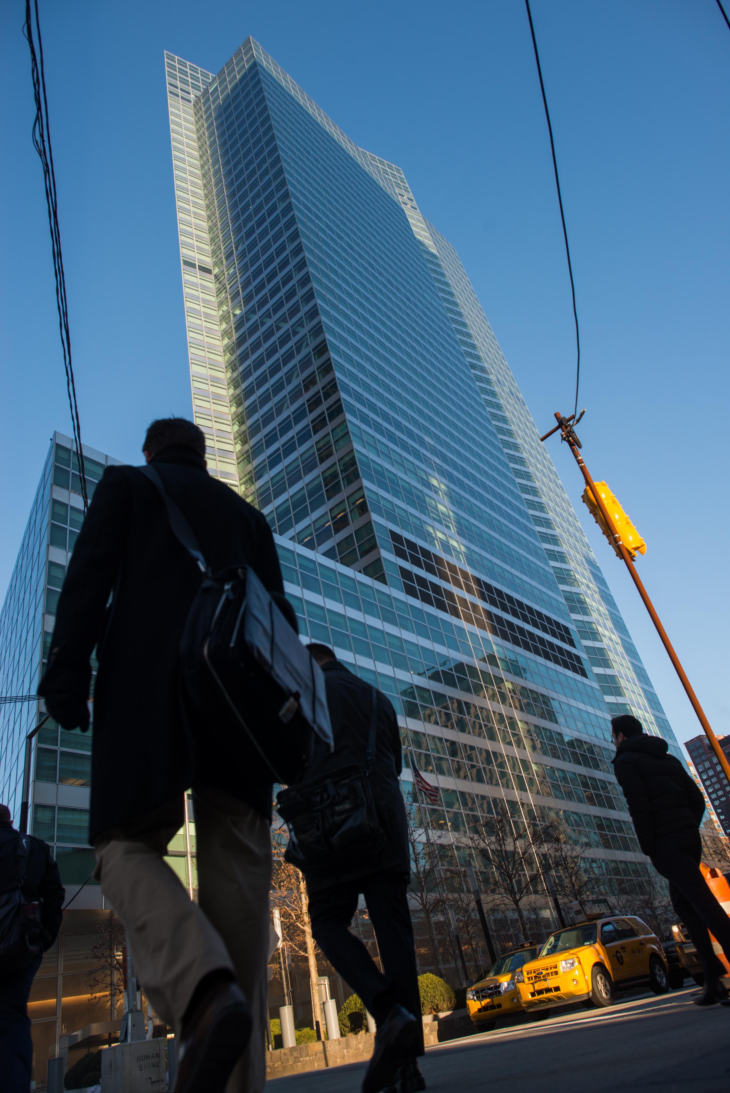 Views Of Goldman Sachs Group Headquarters Ahead of Earnings
