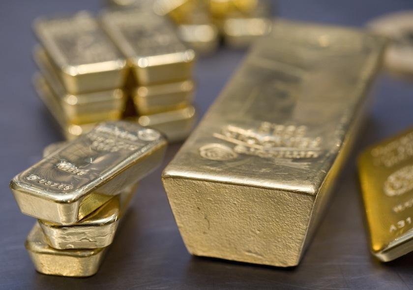Gold, gold bullions.