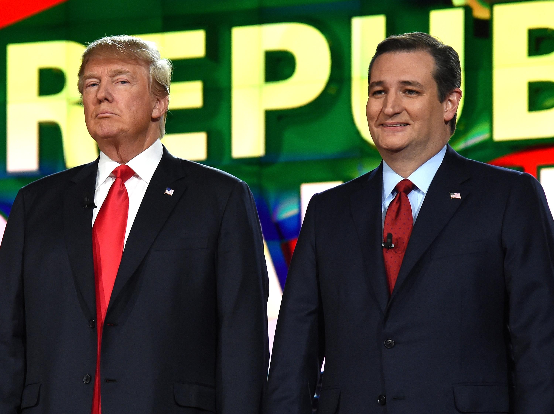 GOP Presidential Candidates Debate In Las Vegas