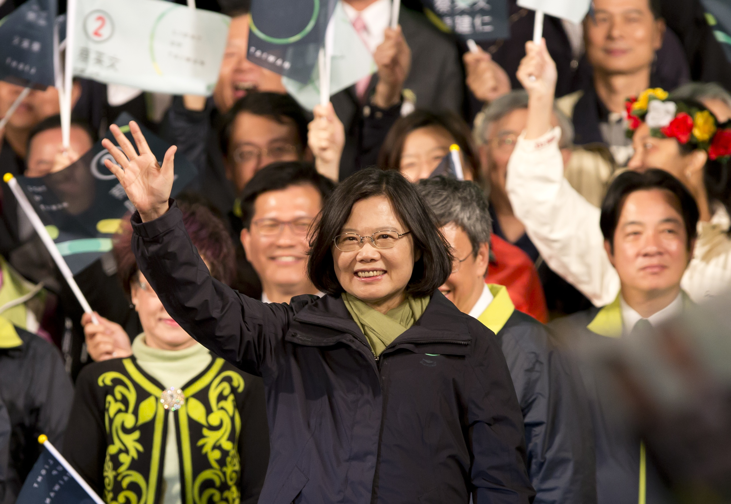 Tsai-ing Wen, the new fly in Greater China's ointment.