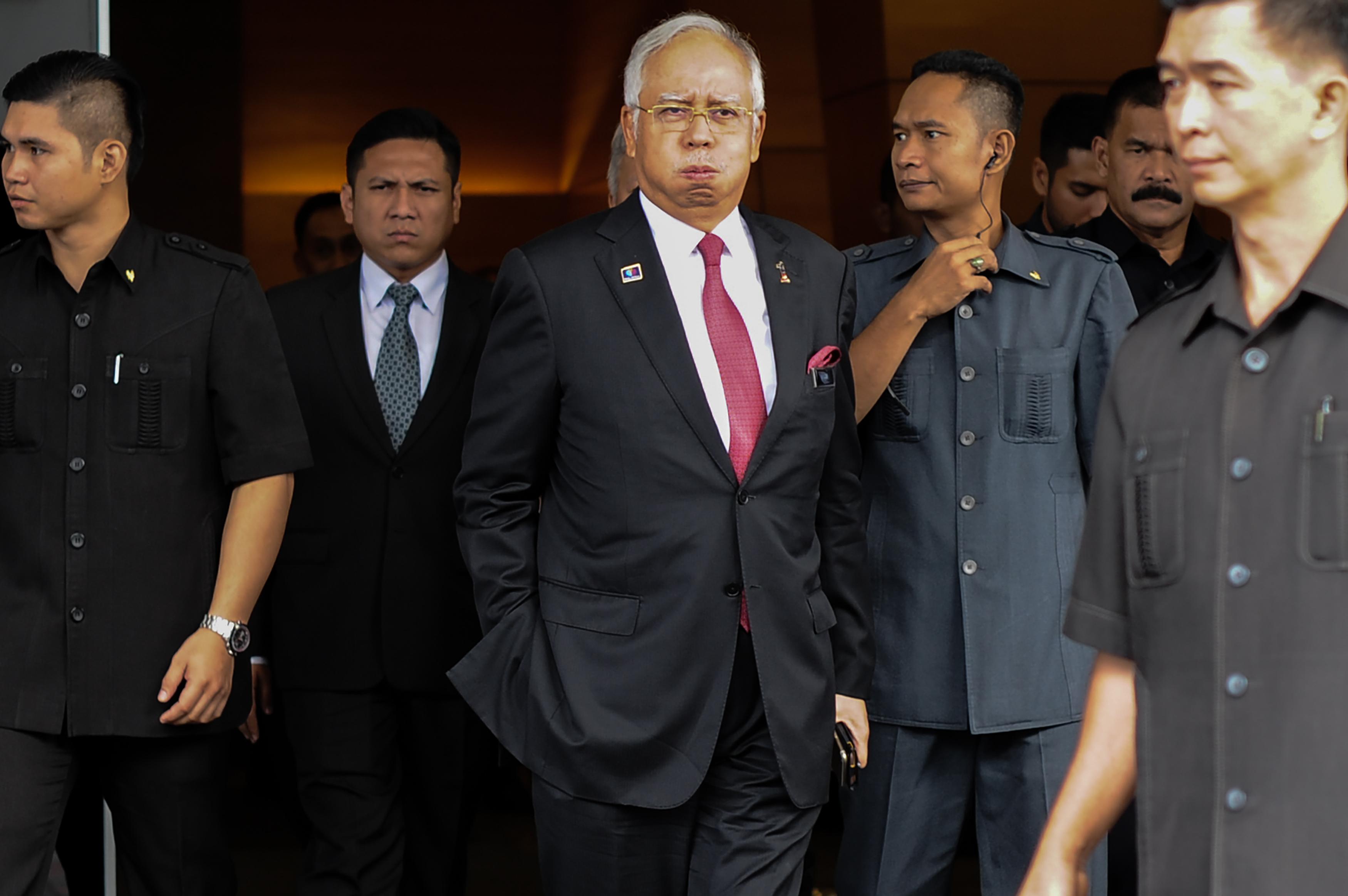 MALAYSIA-POLITICS-CORRUPTION-SAUDI
