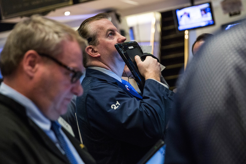 New York Markets Open As Chinese Markets Dive