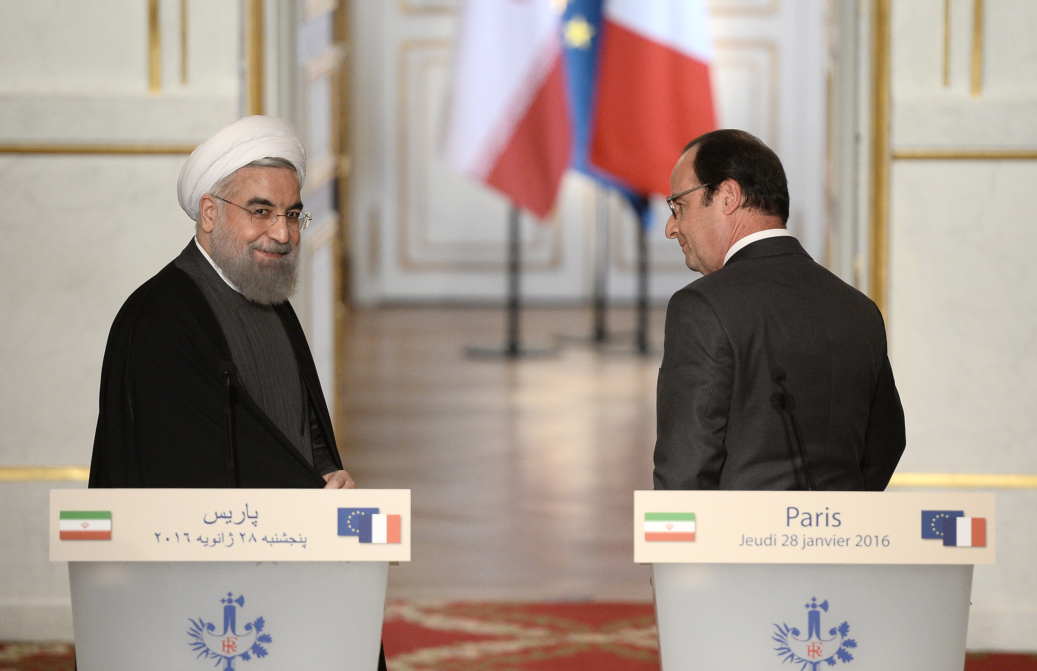 FRANCE-IRAN-DIPLOMACY-ROUHANI