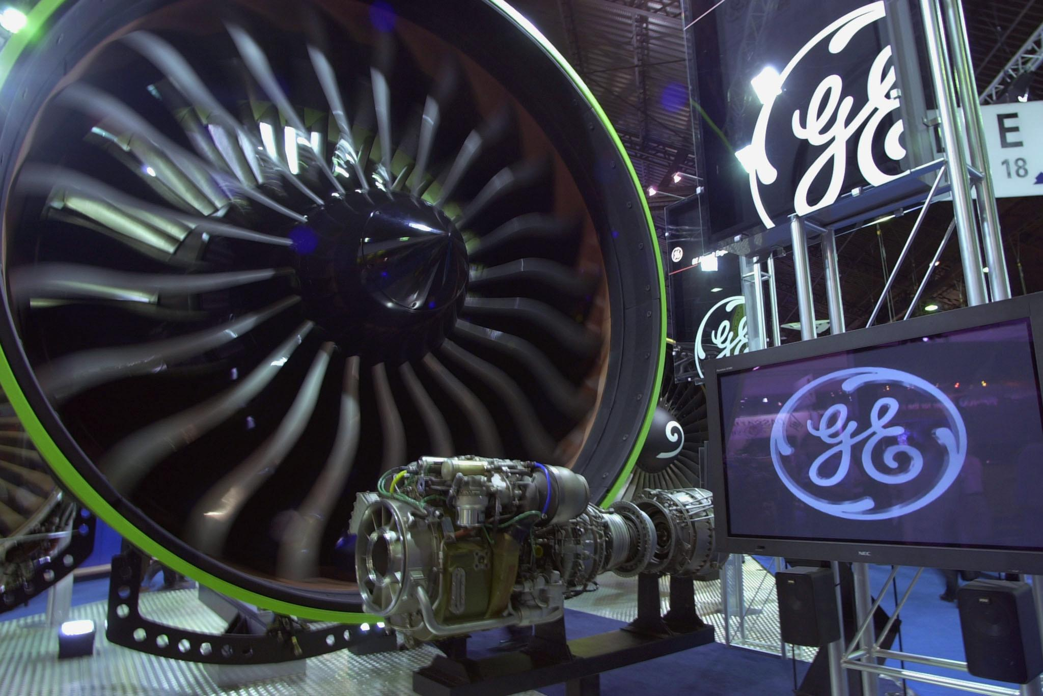 A General Electric turbine for Boeing 777 is on di