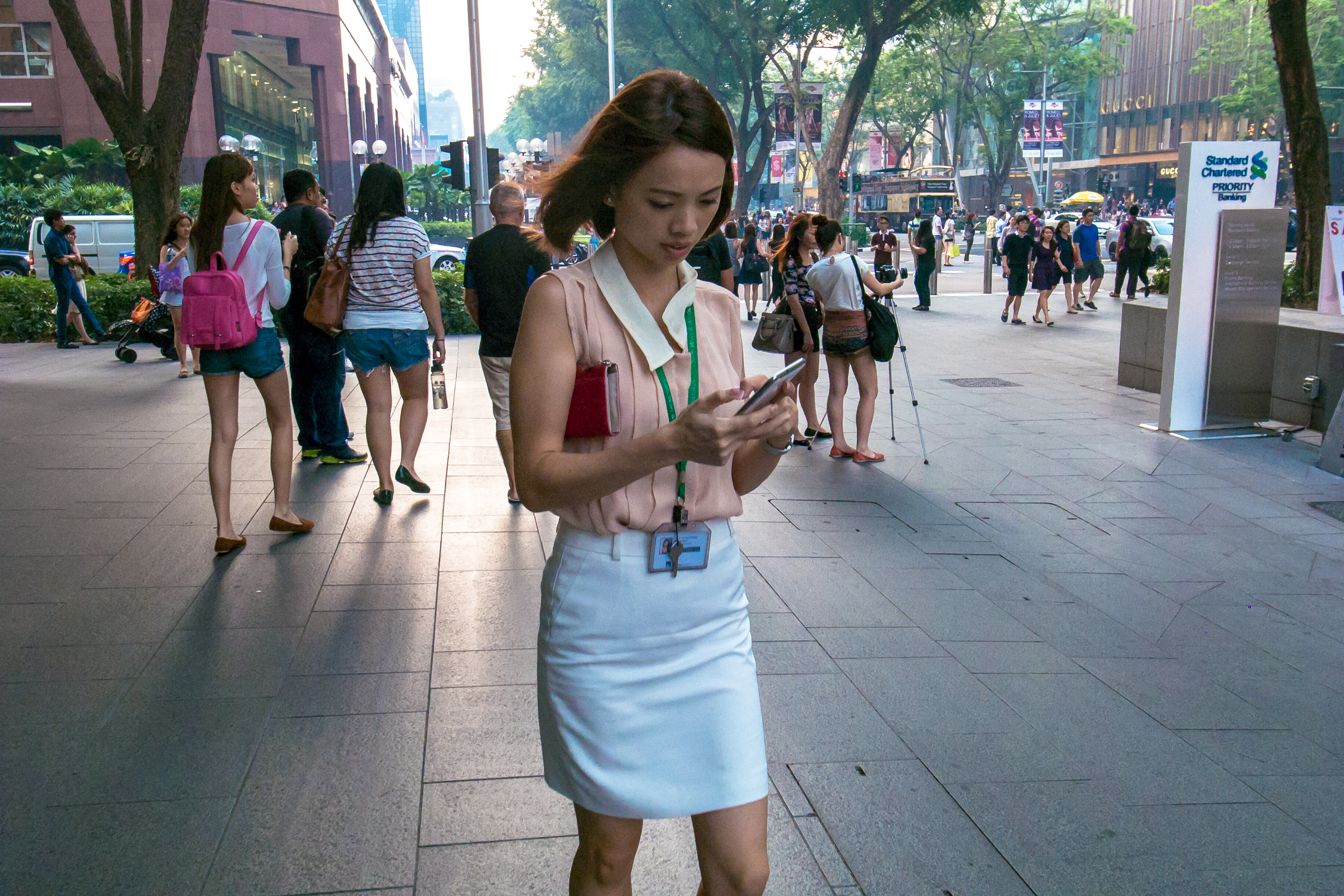 People Using Cellphones