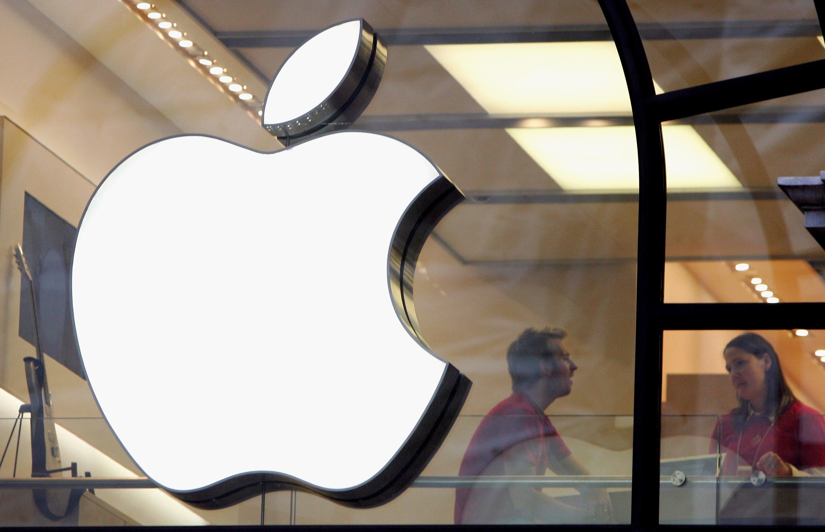 Apple Store Logo London 2006