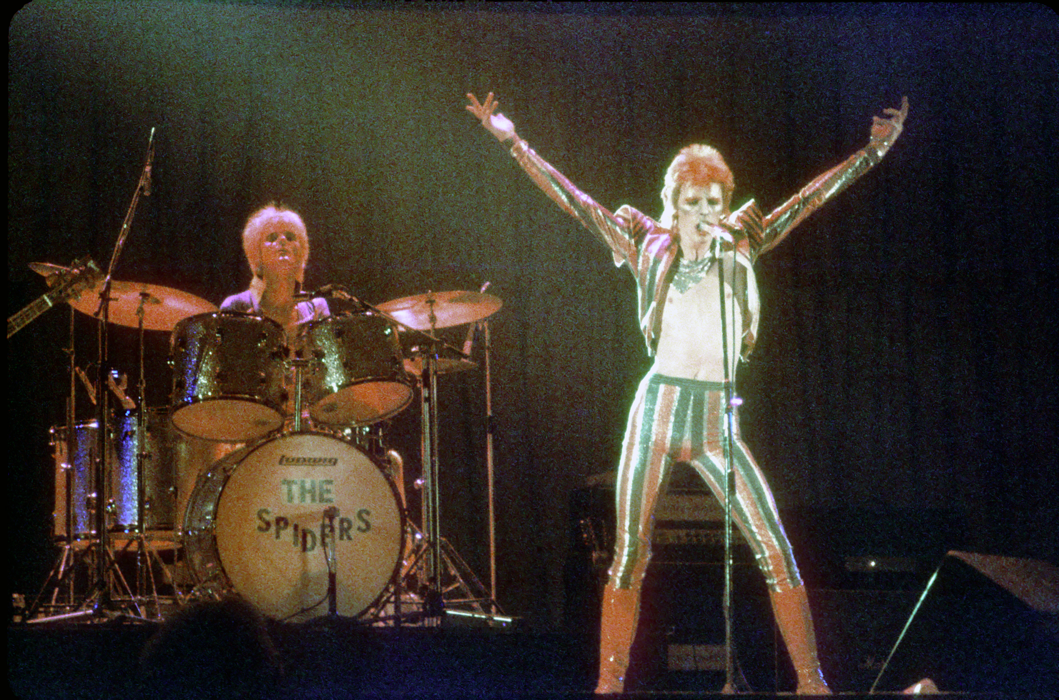 David Bowie Ziggy Stardust Tour in LA 1973