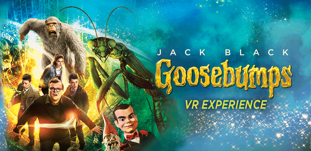 "Sony Pictures takes R.L. Stine fans inside the ""Goosebumps"" movie using virtual reality."