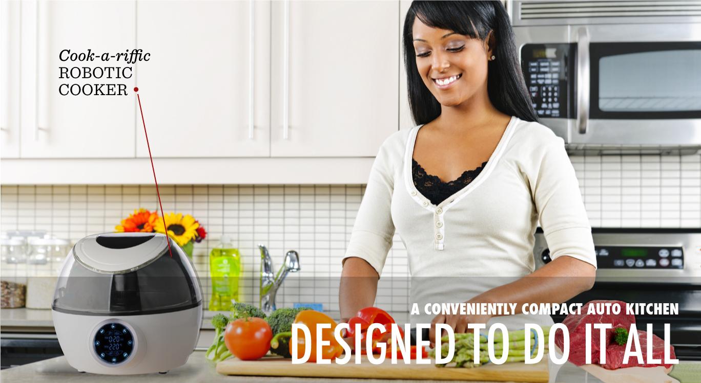 Gourmia Robotic Cooker