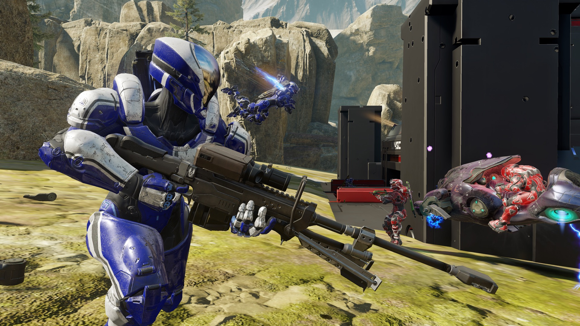 Microsoft and 343 Industries designed Halo 5: Guardians for eSports events like ESPN X Games.