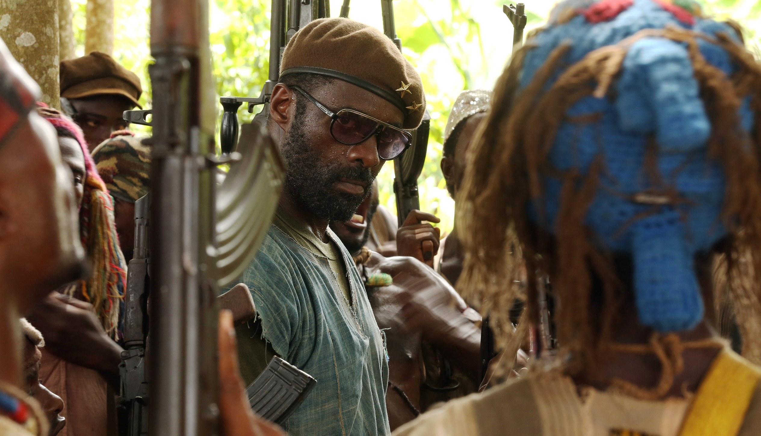 BEASTS OF NO NATION, Idris Elba, 2015. ©Bleecker Street Media/Courtesy Everett Collection