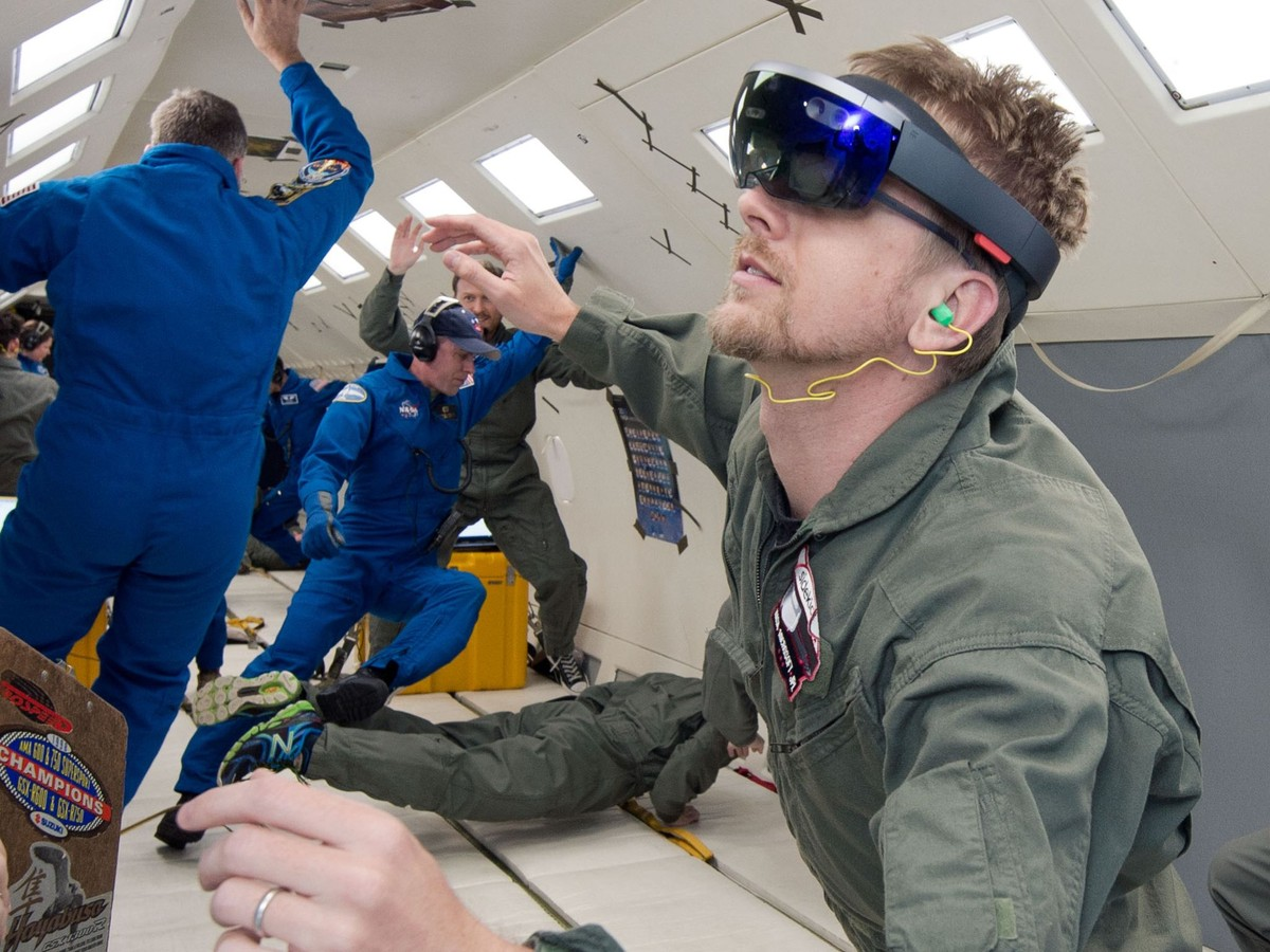 Microsoft HoloLens is being used aboard the International Space Station.