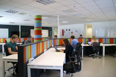 The IBM Services Center in Groningen is one of close to 30 digital design studios globally.
