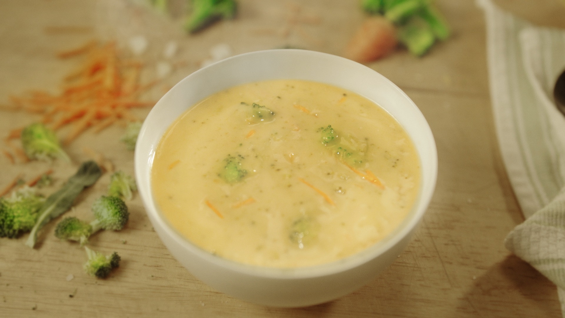 "Panera's best-selling cheddar broccoli soup is now ""clean."""