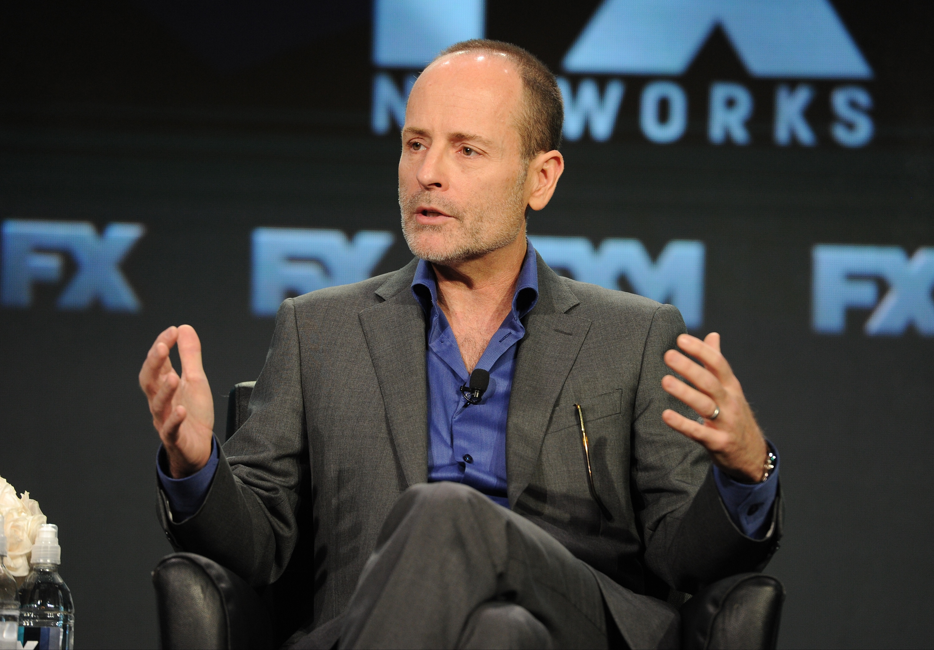 2016 FX WINTER TCA: CEO FX Networks & FX Productions John Landgraf addresses TCA members during the Executive Session at the 2016 FX WINTER TCA at the Langham Hotel, Saturday, Jan. 16 in Pasadena, CA. CR: Frank Micelotta/FX