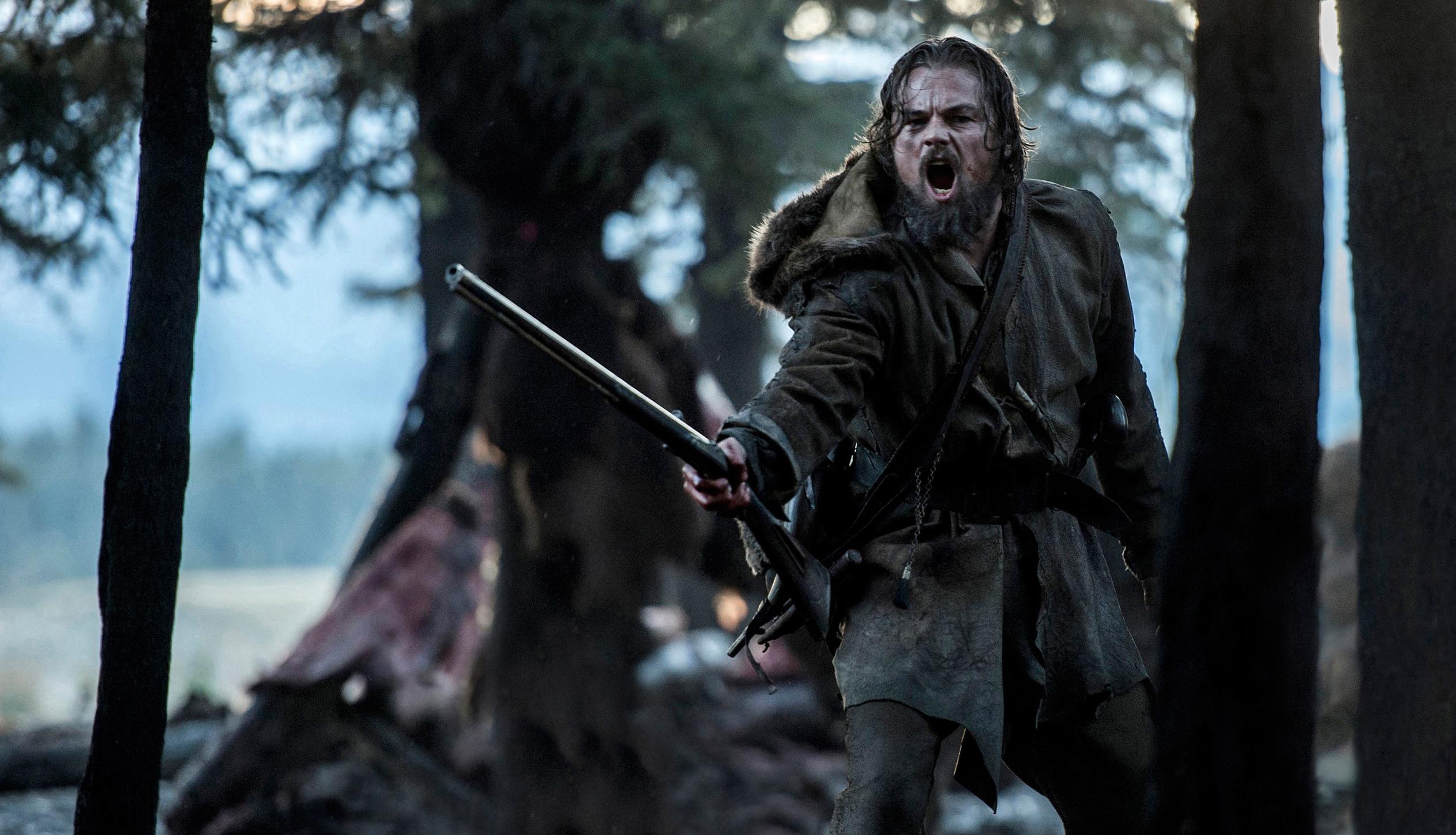 THE REVENANT, Leonardo DiCaprio, 2015. ph: Kimberley French/TM and Copyright ©20th Century Fox Film