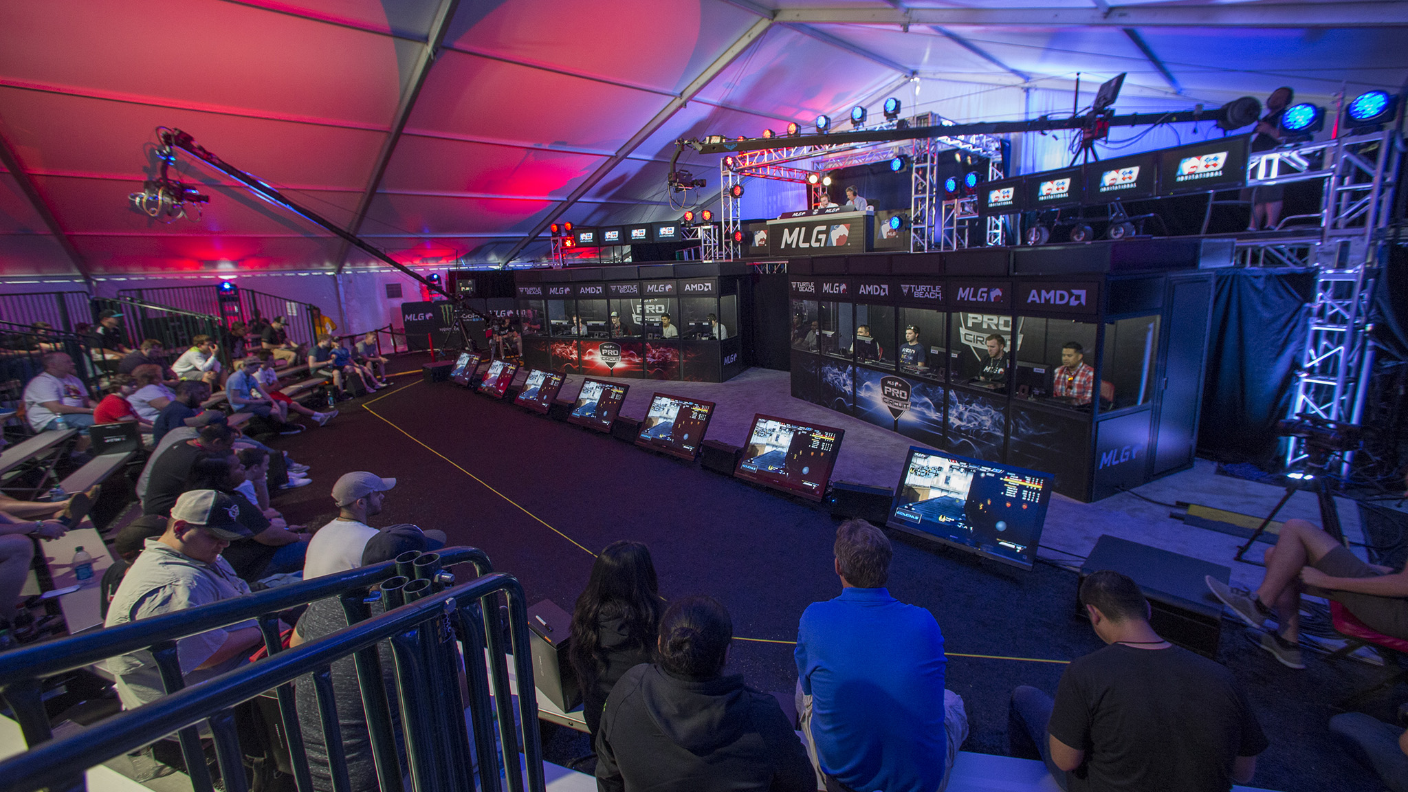 "Activision Blizzard has worked with Major League Gaming over the years to bring ""Call of Duty"" to ESPN X Games events like this Austin 2014 competition."