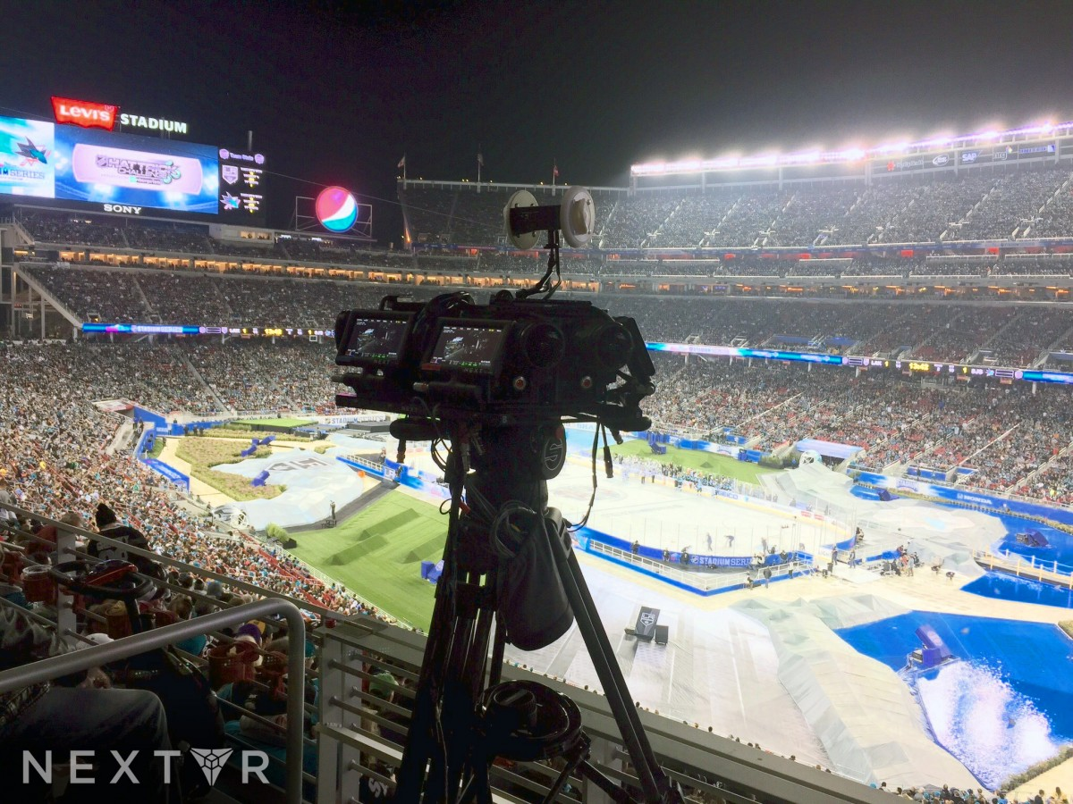 NextVR has livestreamed every sport in VR, including the NHL at Levi's Stadium.