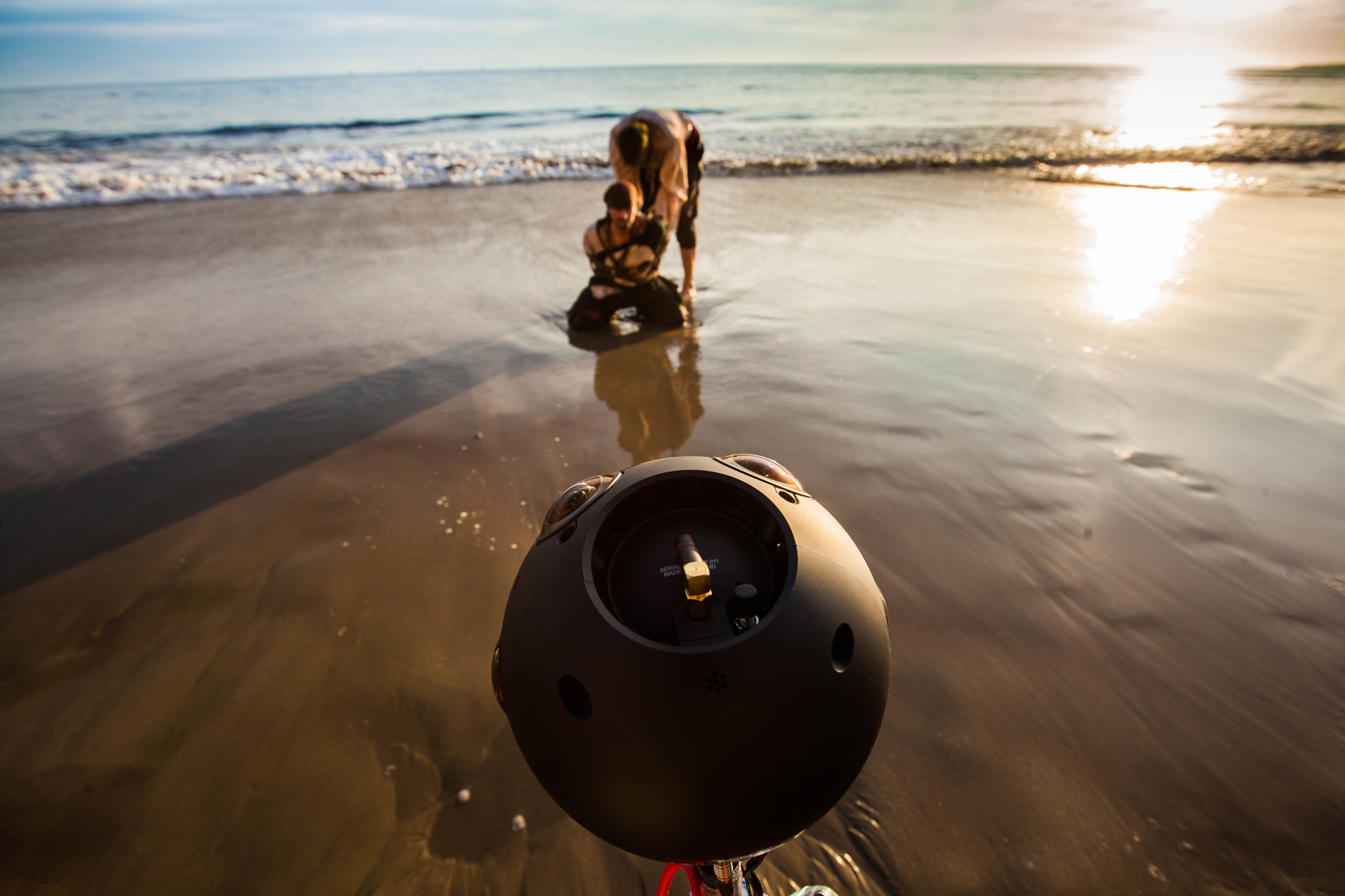 Nokia Technologies' Ozo 360-degree camera was used to film this Mutiny VR narrative sequencel
