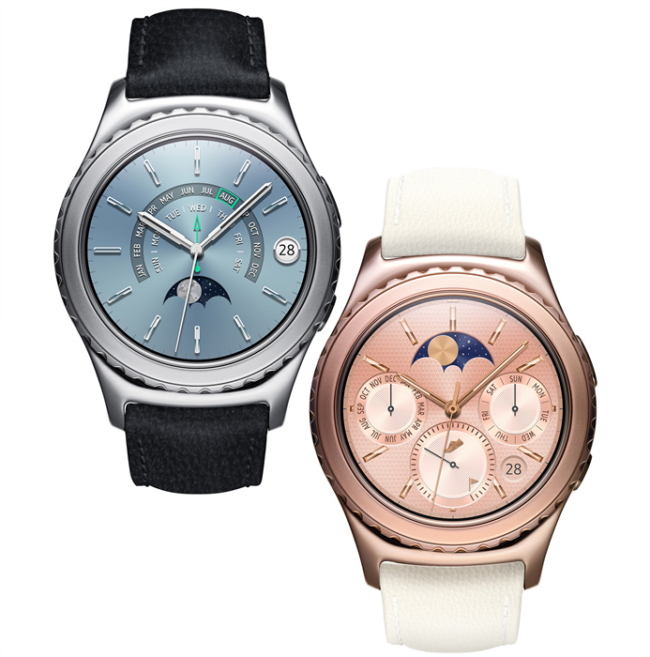 separation shoes cc0ba 2216d Samsung's New Gear S2 Watch Will Work With the iPhone Later This ...