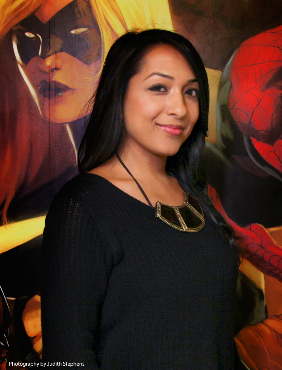 Sana Amanat, editor at Marvel Comics
