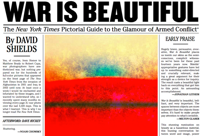 War is Beautiful book cover