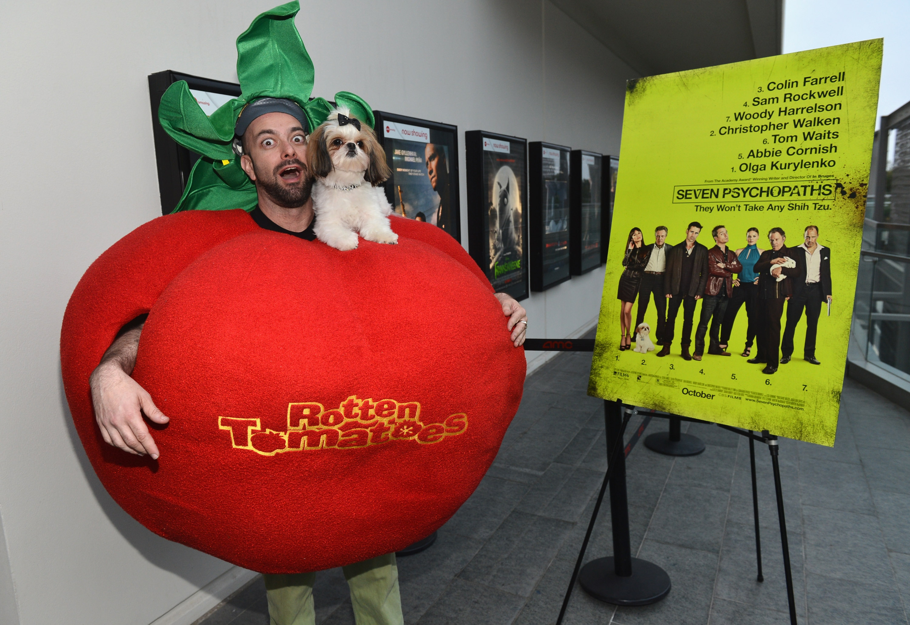 """""""Seven Psychopaths"""" Celebrates Its Rotten Tomatoes.com Certified Fresh Rating At AMC Century City"""