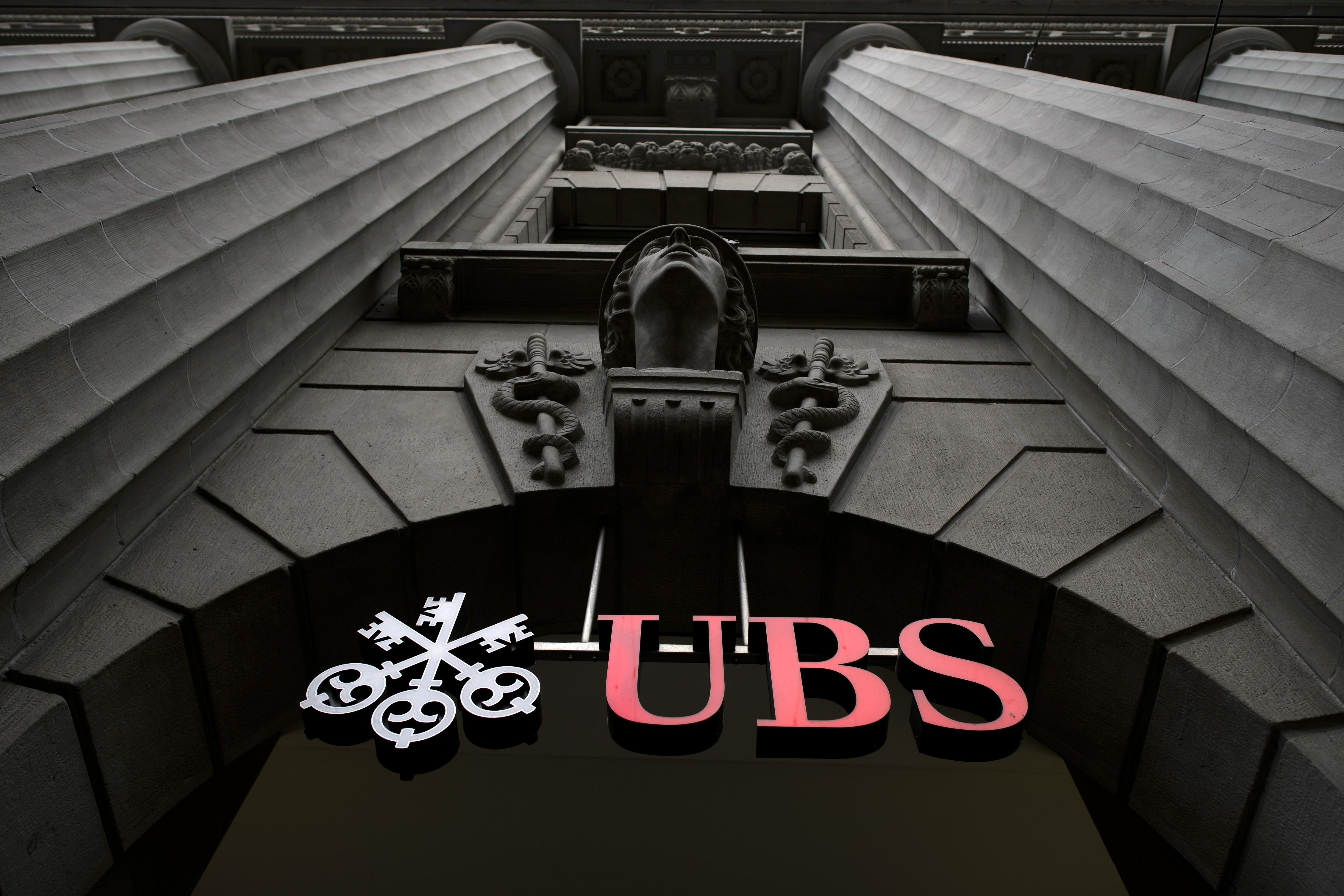 SWITZERLAND-ECONOMY-BANKING-UBS