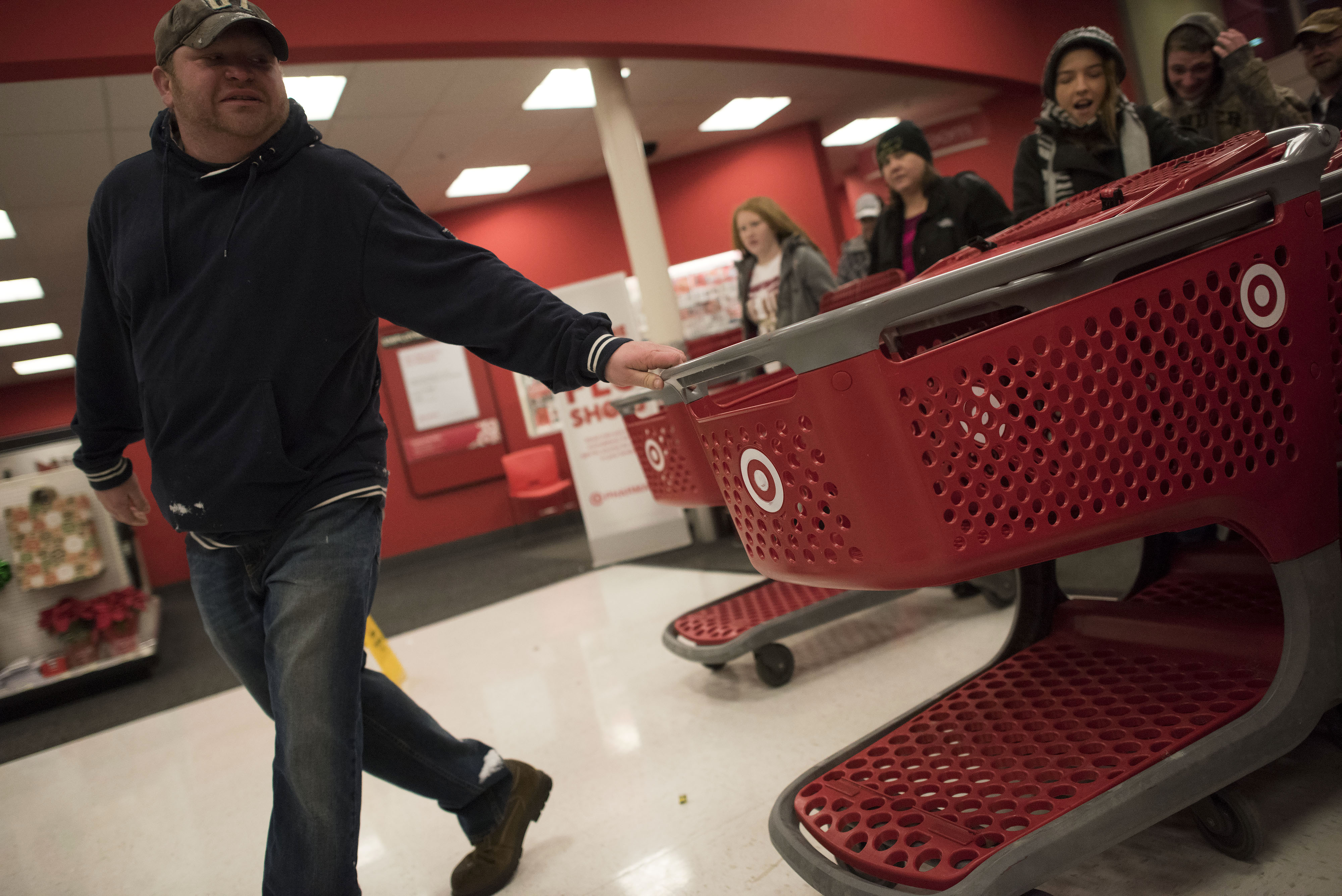 Shoppers Inside A Target Corp. Store Ahead Of Black Friday Sales