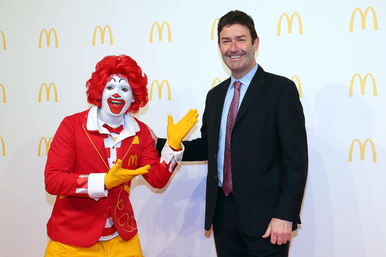 McDonald's Flagship Restaurant Re-Opening In Frankfurt/Main