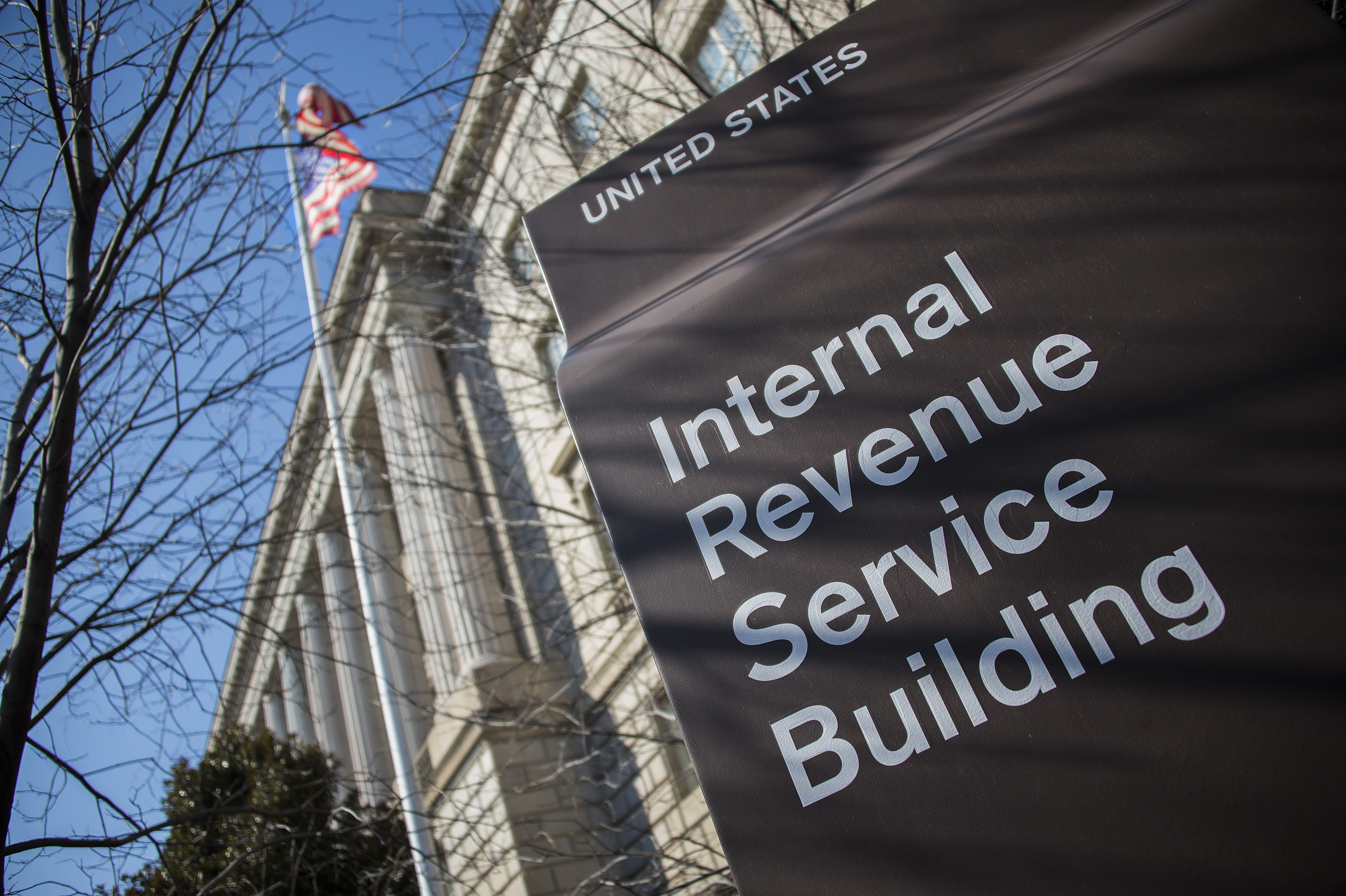 US-POLITCS-IRS-BUILDING